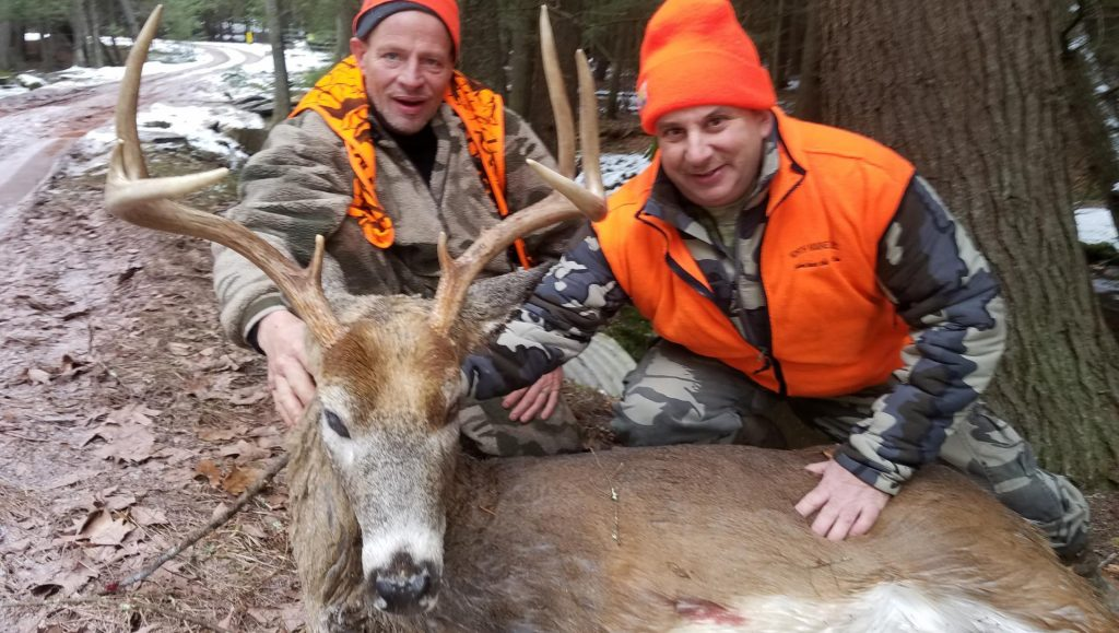 PA whitetail deer hunting ranch